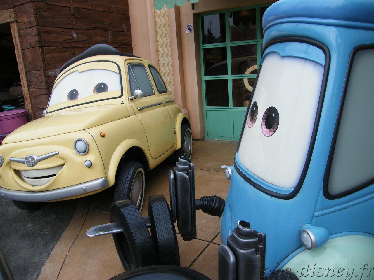A cars 4 roues luigi