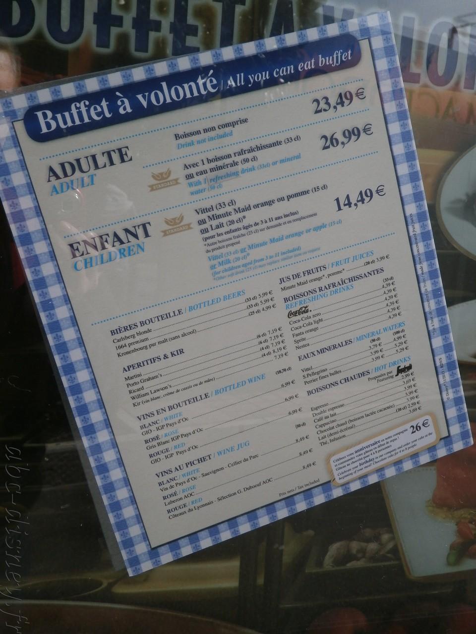 R restaurant des stars carte