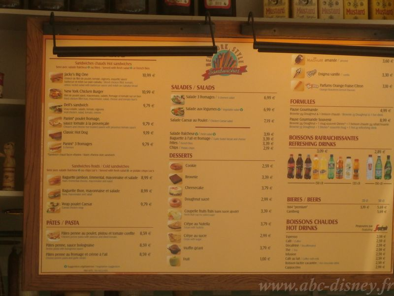 R new york style sandwiches menu2
